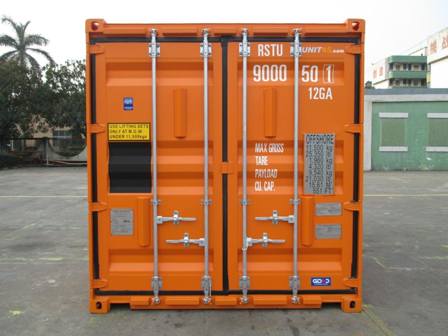 20ft DNV offshore container