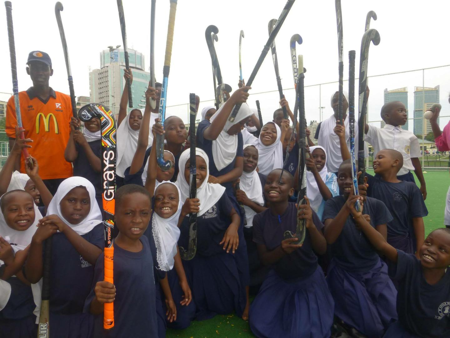 Youth League hockey in Tanzania