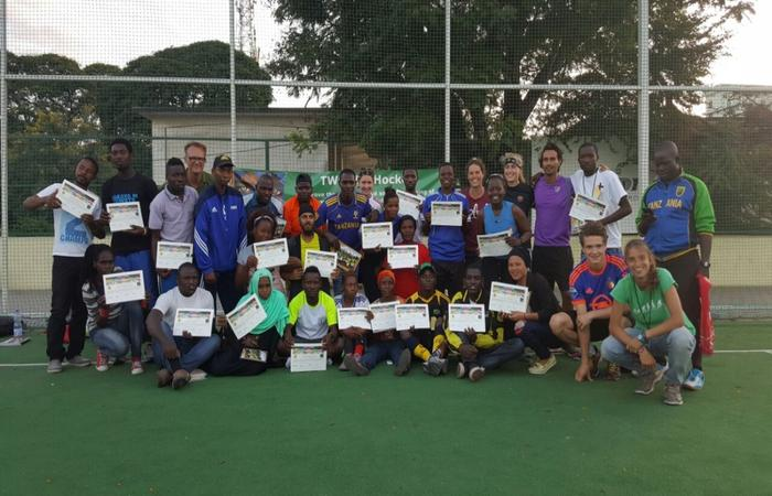 Hockey Tanzania - TWENDE Hockey Coaching Course