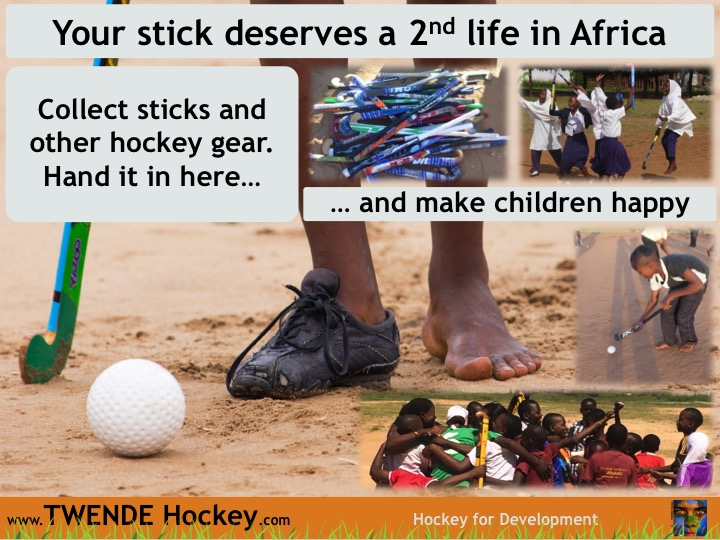 TWENDE Hockey poster - Equipment - EN