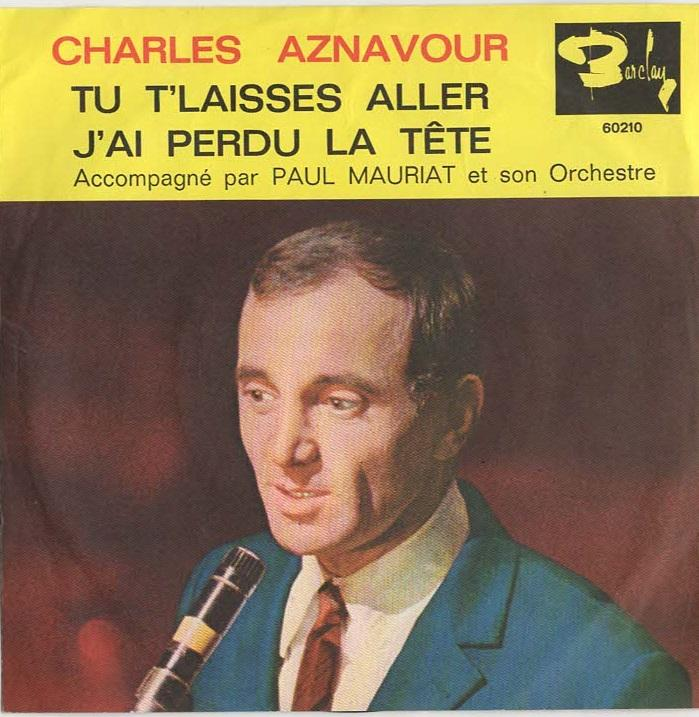 HST  2A: Aznavour, Charles - Barclay 60 210
