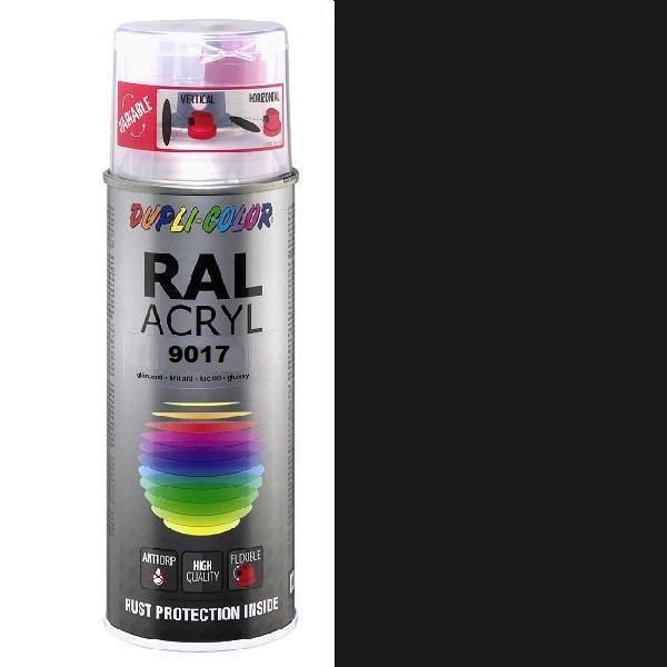 Duplicolor Acryl Ral 9017 Mat