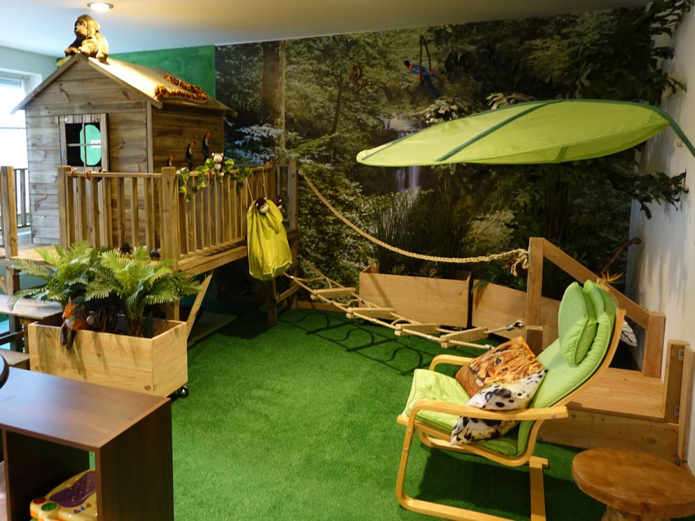 Jungle Slaapkamer Maken : Jungle room