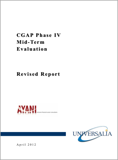 CGAP Phase IV Mid-Term Evaluation