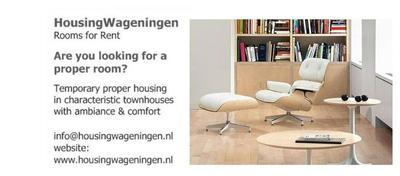 Housing-Wageningen offers rental-rooms-Wageningen