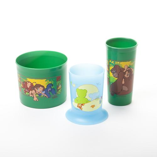 heat transfer printed drink cup