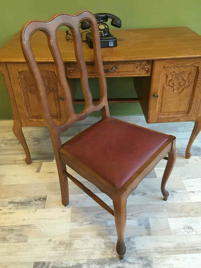 Queen Anne, Brocante stoelen