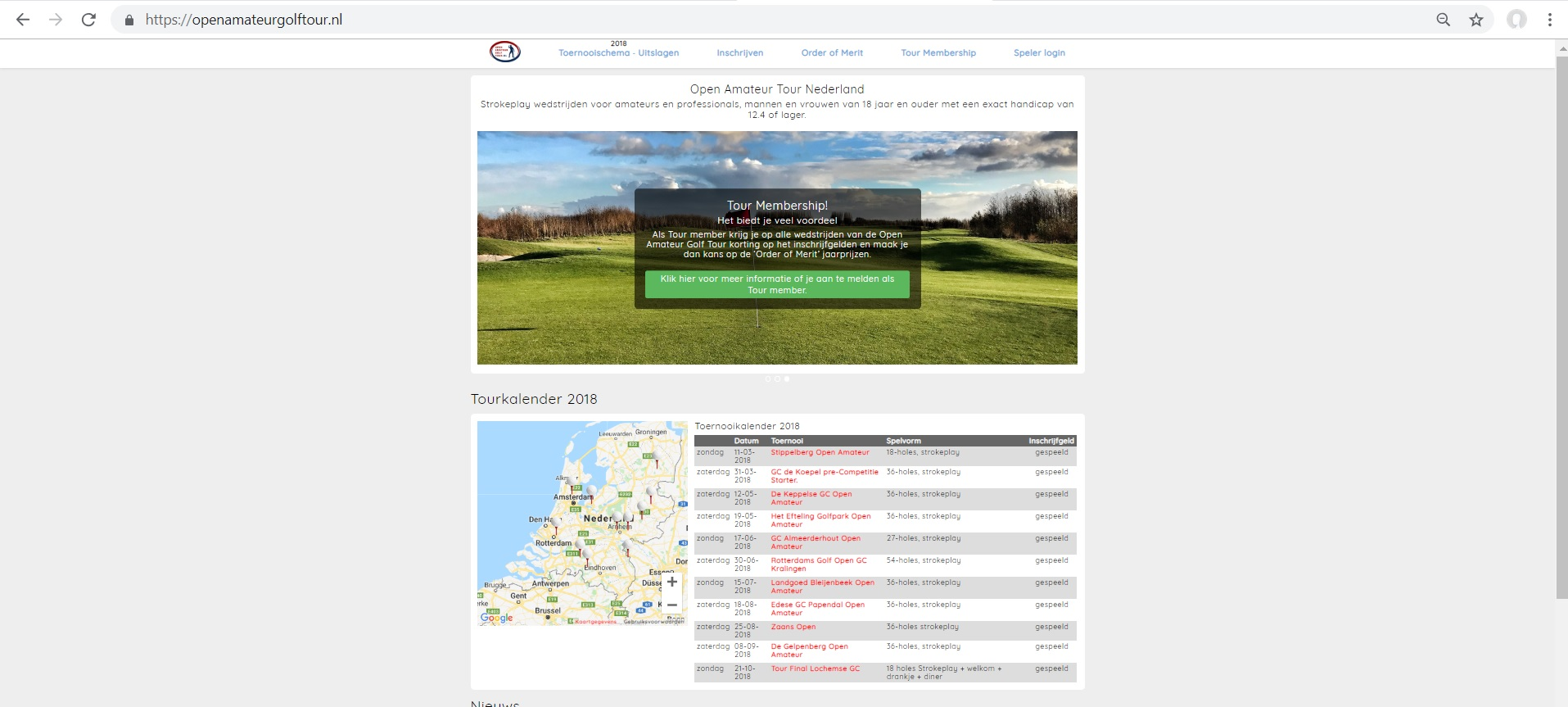 Open Amateur Golf Tour