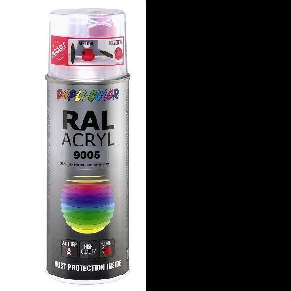 Duplicolor Acryl Ral 9005 Mat
