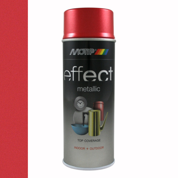 Motip Effect Metallic Red