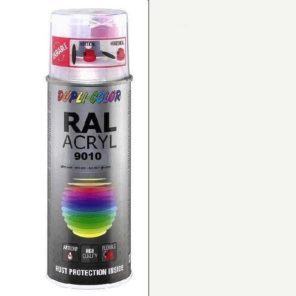 Duplicolor Acryl Ral 9010 Mat