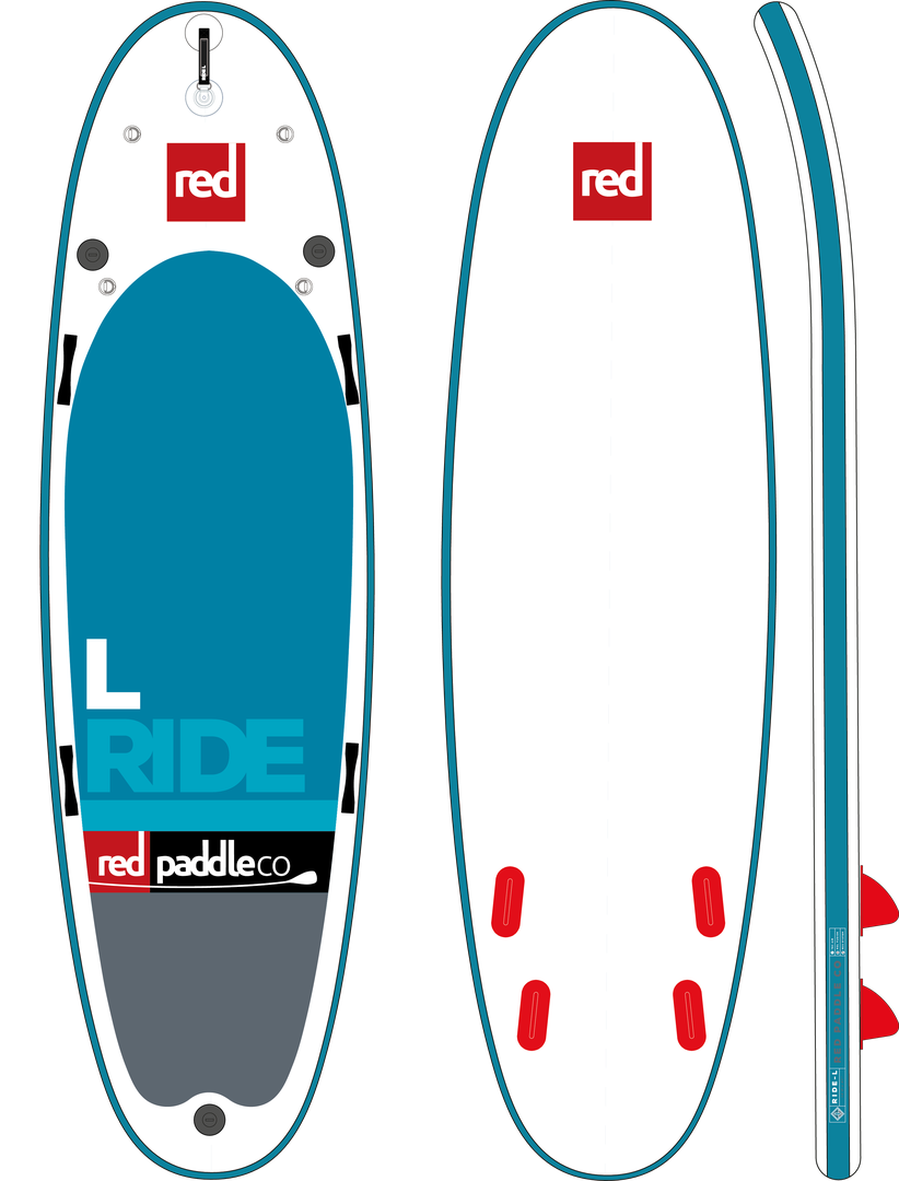 "Red Paddle Co 10'6"" RIDE SUP"