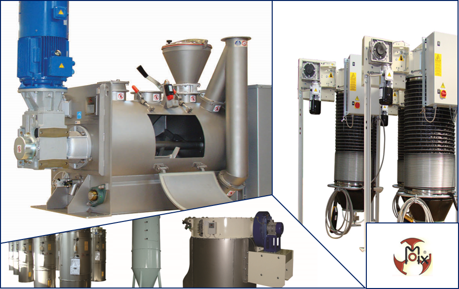 Mix mixers and plant components